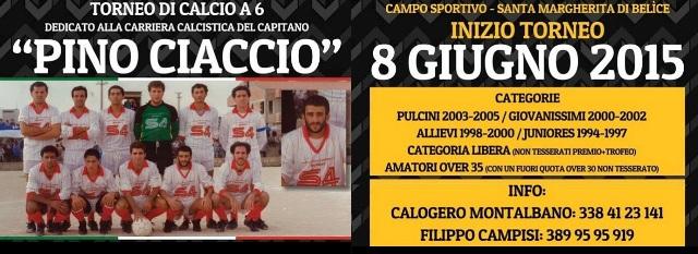 locandina torneo Pino Ciaccio 2015
